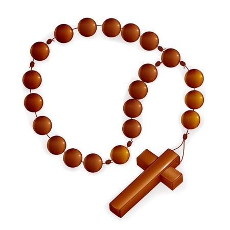 rosary: Rosary and Cross