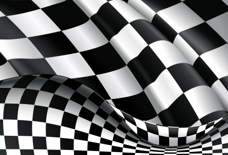 Checkered Background Stock Vector - 13696075