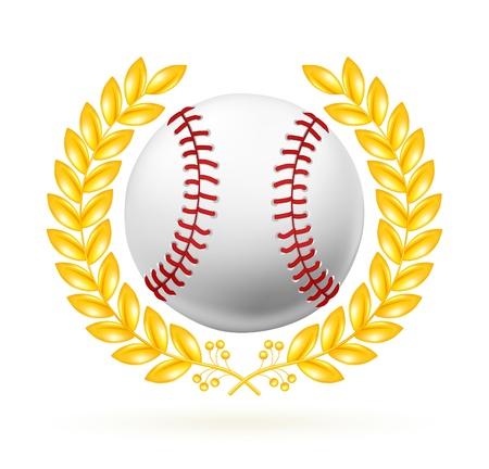 Baseball emblem Stock Vector - 13696199