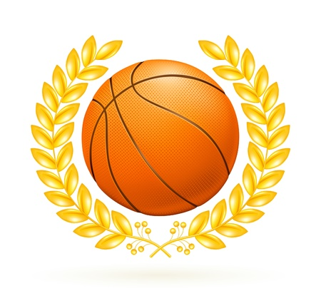 Basketball emblem Stock Vector - 13696248