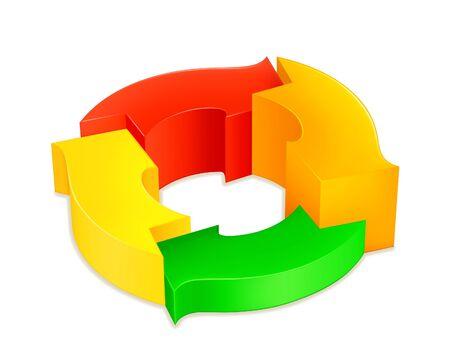 Circular diagram Vector