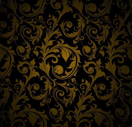 style wealth: Seamless wallpaper pattern
