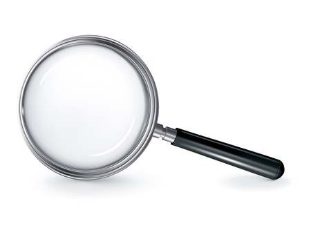 Magnifying glass Stock Vector - 13696078