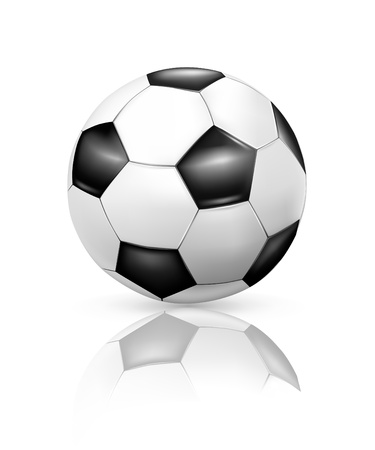uefa: Soccer-ball Illustration