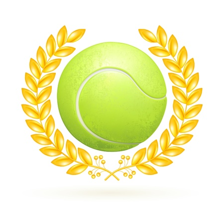 Tennis emblem Stock Vector - 13696238