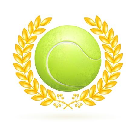 tennis ball: Tennis emblem