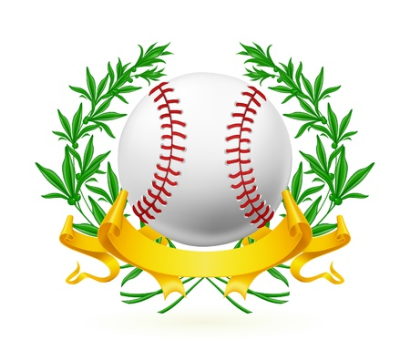 Baseball Emblem Stock Vector - 13738310