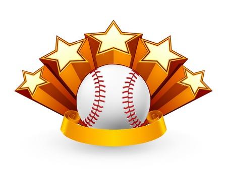 Baseball Emblem Vector