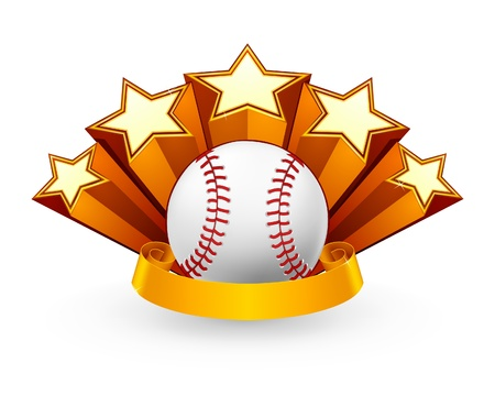 Baseball Emblem Stock Vector - 13738234