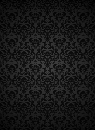 Seamless wallpaper pattern Stock Vector - 13738276