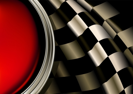 checker flag: Racing Background Illustration