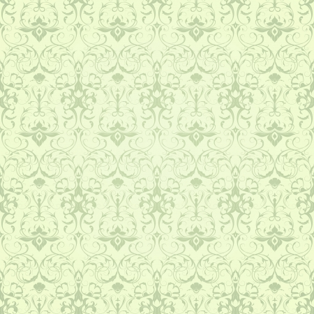 Wallpaper pattern, seamless Vector