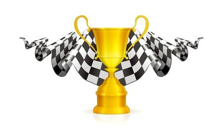 Racing Emblem Stock Vector - 13738257