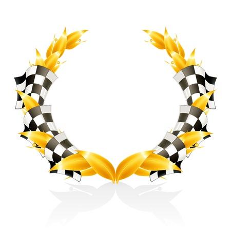 Emblem Racing Stock Vector - 13738307