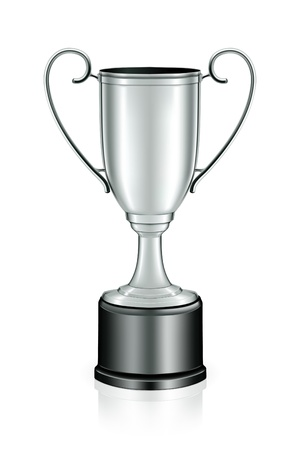 Silver trophy Stock Vector - 13738266