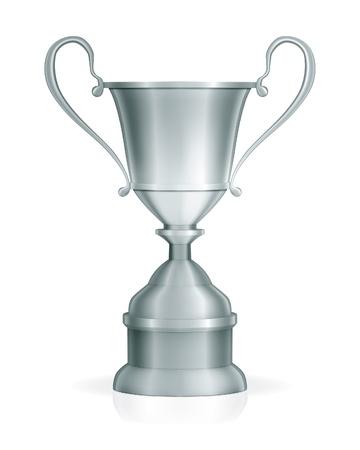 Silver trophy Illustration