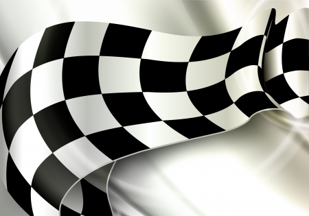checkered flag: Orizzontale Background Checkered Vettoriali