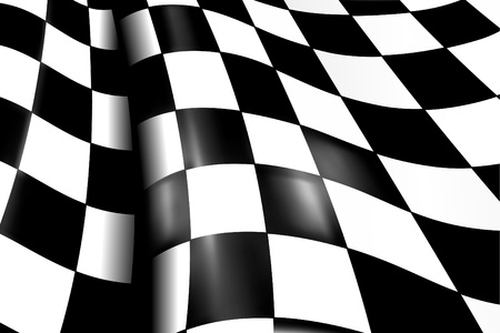 checker flag: Sports Checkered Background Illustration
