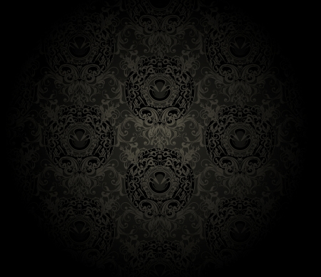 Seamless wallpaper pattern Stock Vector - 13739187