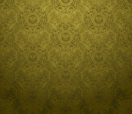 green carpet: Seamless Wallpaper Background Illustration