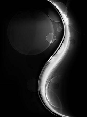 black background: Black Abstract background