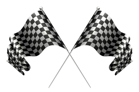 checker: Crossed flags