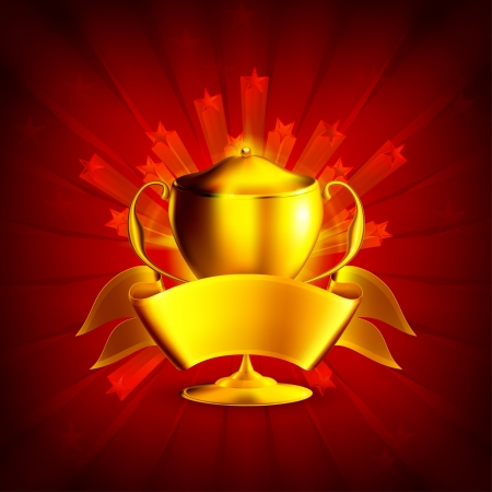Golden Prize, Background Vector