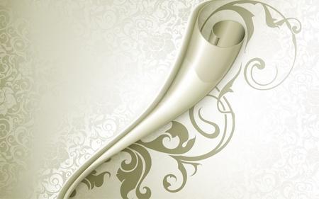 swirly design: Luxury Background Illustration