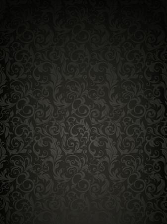 Naadloos behang patroon