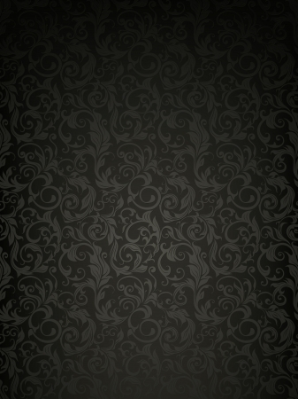 baroque background: Seamless wallpaper pattern