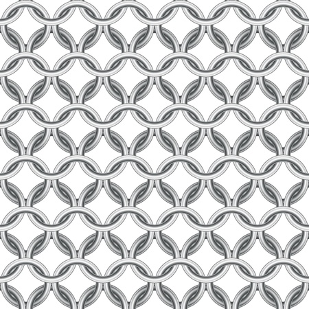 Chainmail seamless Stock Vector - 13777254