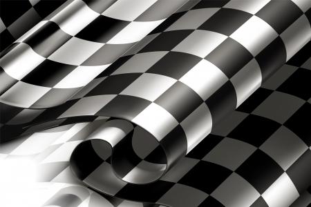 cuadros blanco y negro: Horizontal de fondo a cuadros