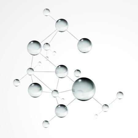 Molecule Stock Vector - 13777247