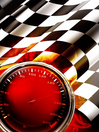 Racing Background Vertical Vector