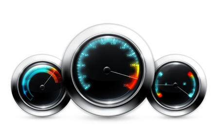 miles: Car dashboard