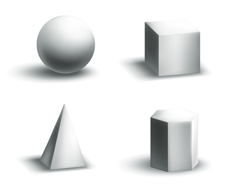 sphere icon: Geometric shapes