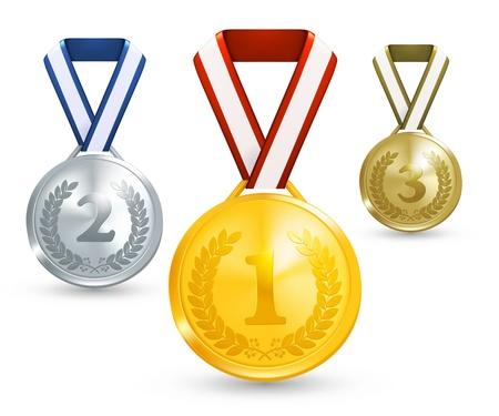 primer lugar: Medallas