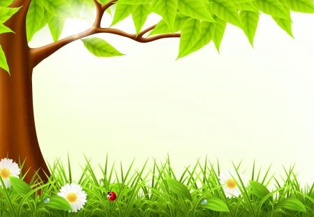緑の木フレーム