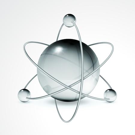 Atom Stock Vector - 13798337