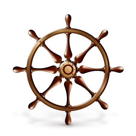 schooner: Ship wheel
