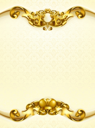 Vintage background white vertical Vector
