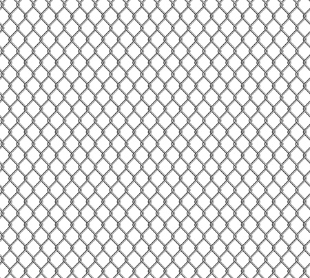chained link: Wire mesh, seamless