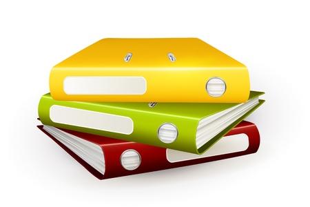 Folders Stock Vector - 13798210
