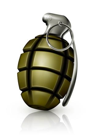 projectile: Hand grenade