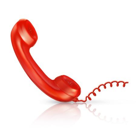 cords: Red Handset