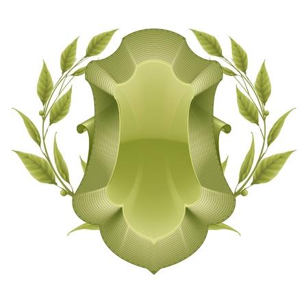 Green Frame Stock Vector - 13798378