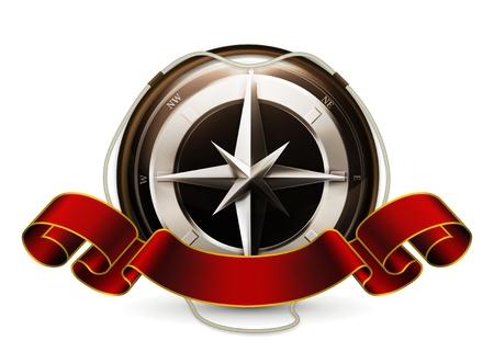 Compass Emblem Stock Vector - 13798411