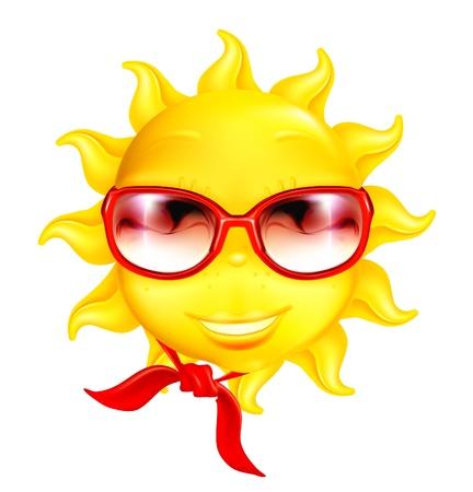 Fun sun Stock Vector - 13798334
