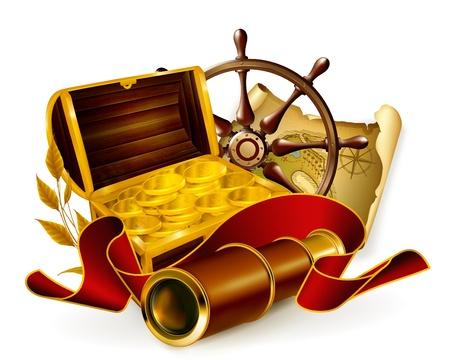 Marine emblem Stock Vector - 13798367