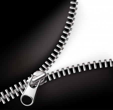 Zipper Stock Vector - 13798351
